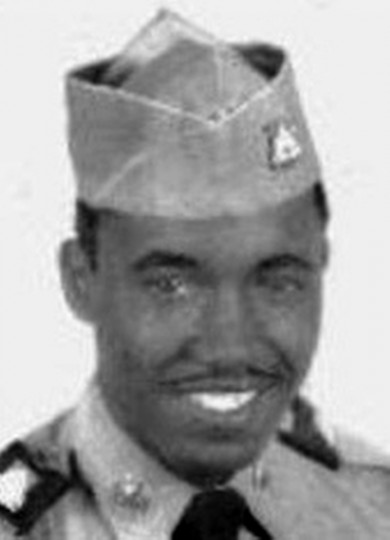 SSgt. James Odell Vaughan, Baltimore, MD.  B Company, 1ST Battalion, 5TH Cavalry, 1ST CAV Division. Killed in action November 17, 1965 during the Battle of Ia Drang Valley.