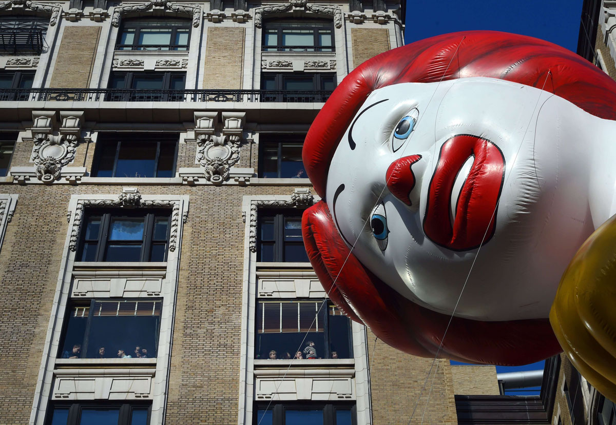 2015 Macy's Thanksgiving Day Parade in New York City