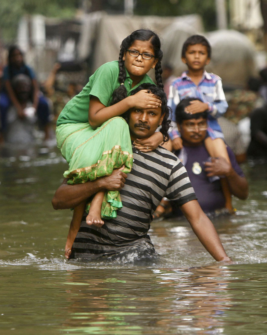 Chennai, India's monsoon floods