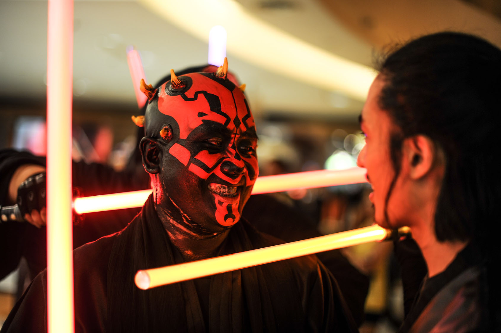 "Fans get ready for ""Star Wars: The Force Awakens"""
