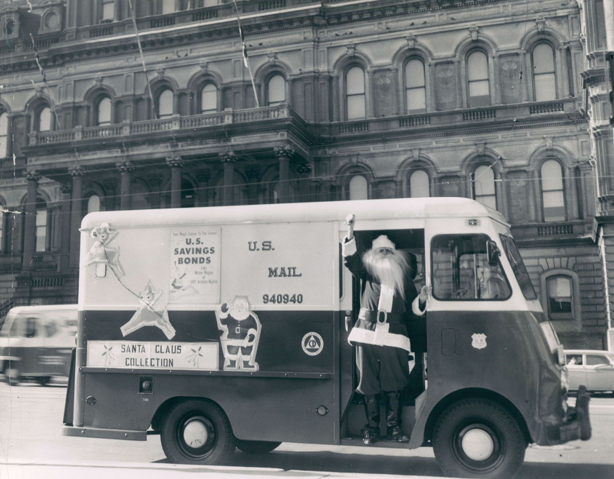 From the vault: Santa around the Baltimore area