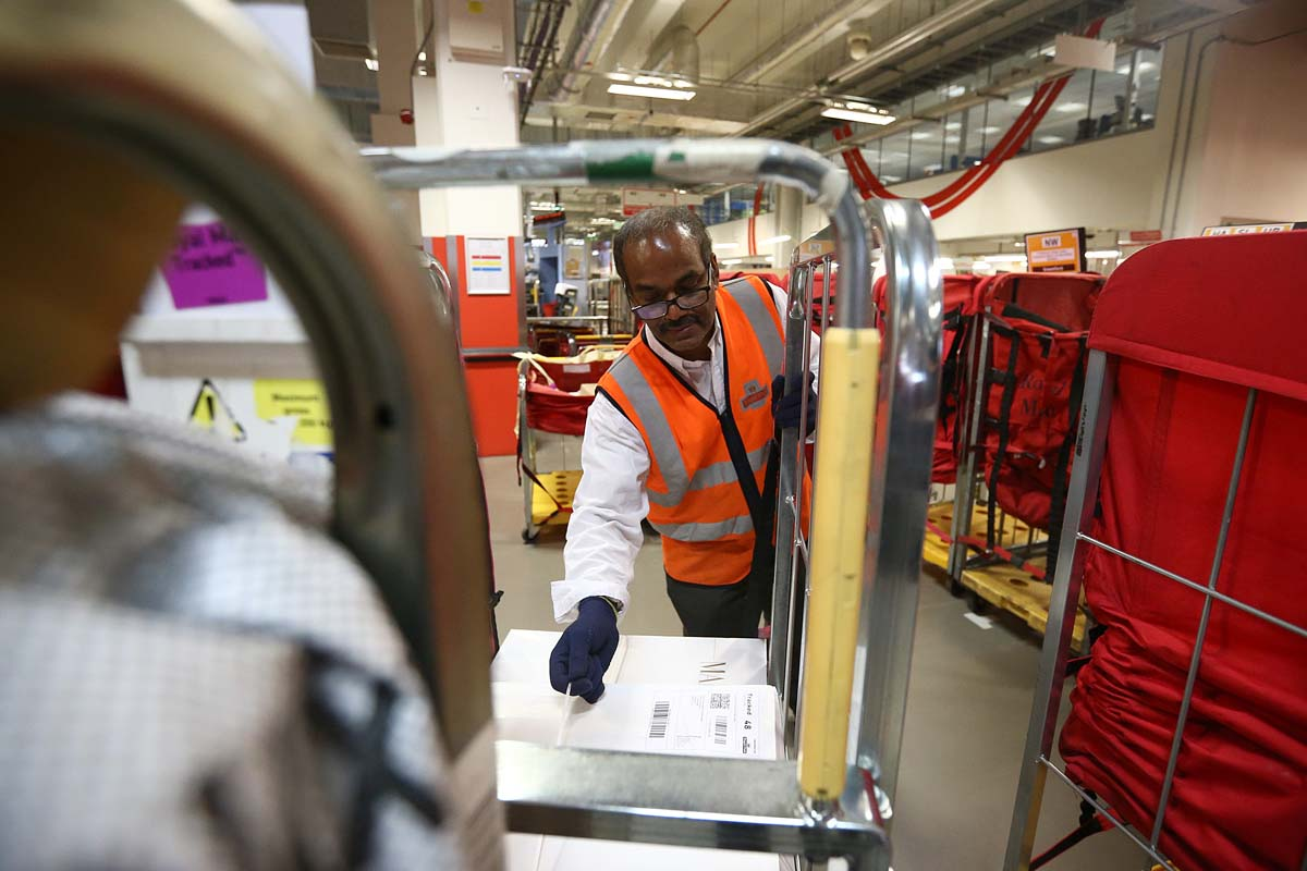 The Royal Mail hits its Christmas stride