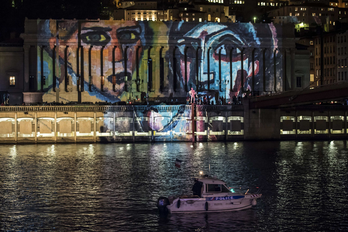 Lyon, France, celebrates scaled-down Festival of Lights after Paris attacks