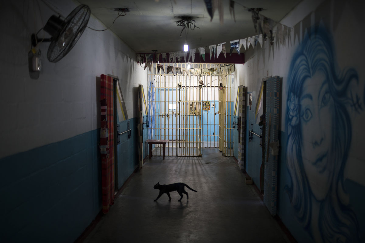 Inside one of Brazil's most crowded prisons