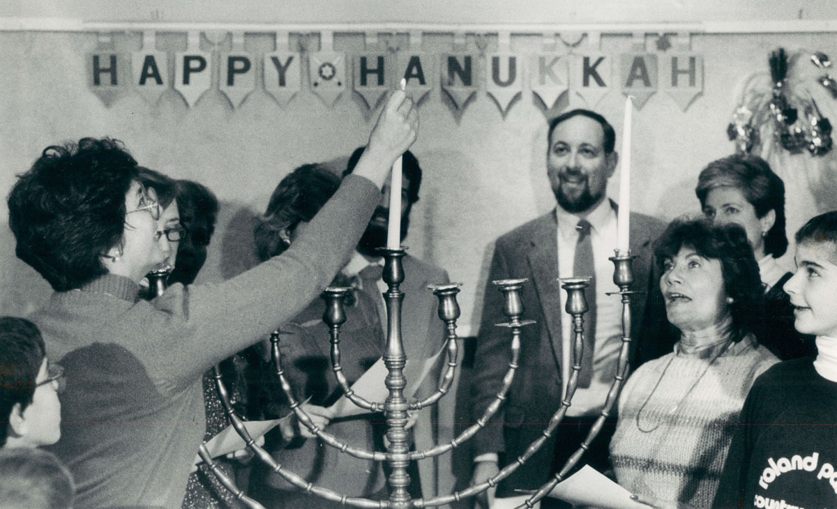 From the vault: Hanukkah