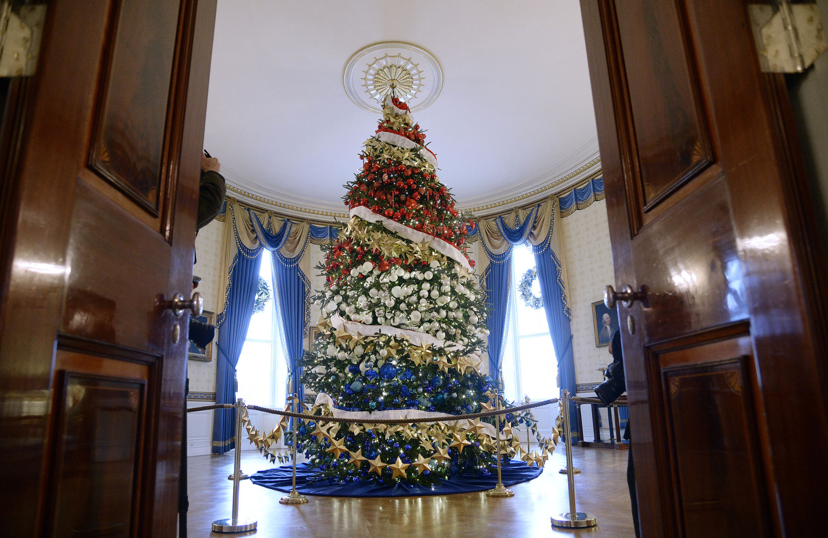 2015 White House holiday decorations