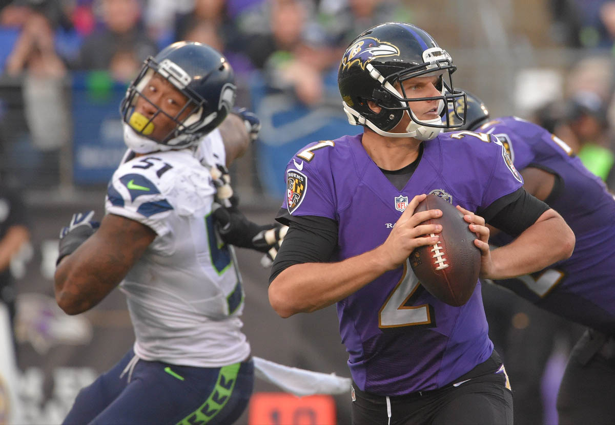 Rough Cut: Ravens 6, Seahawks 35