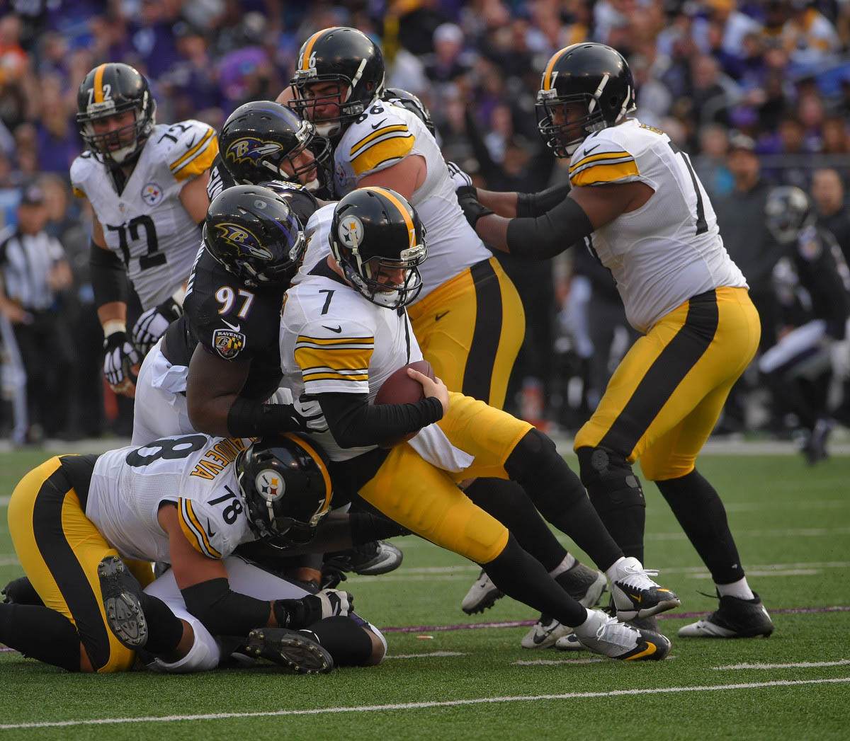Rough Cut: Ravens 20, Steelers 17