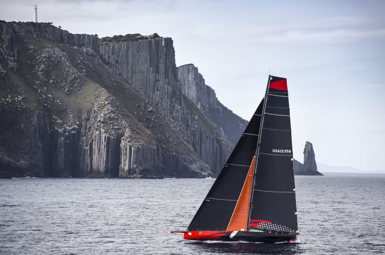 In this handout photo from Rolex, Supermaxi yacht Comanchi competes in the Sydney to Hobart yacht race in Sydney on December 28, 2015. (Kurt ARRIGO/AFP/Getty Images)