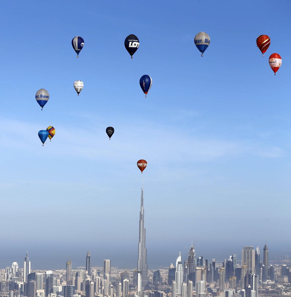 The world air games in dubai for Air balloon games