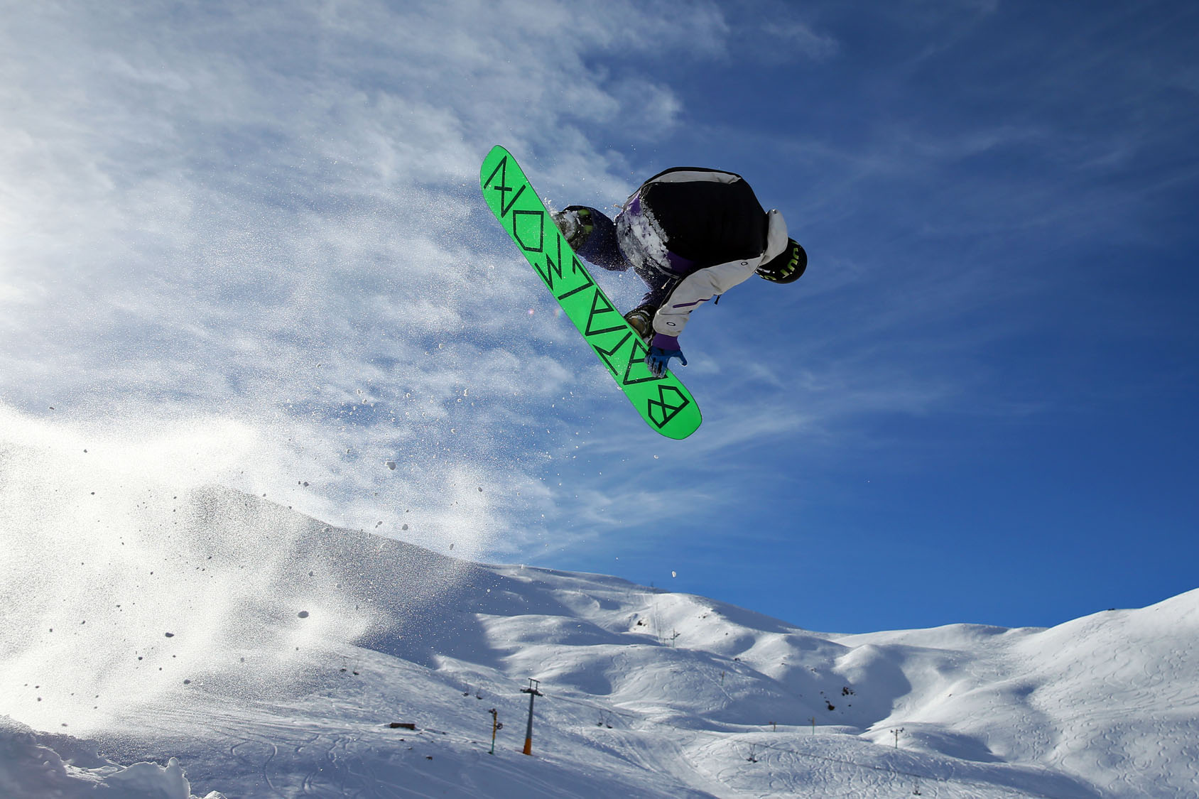 Hitting the slopes in Iran