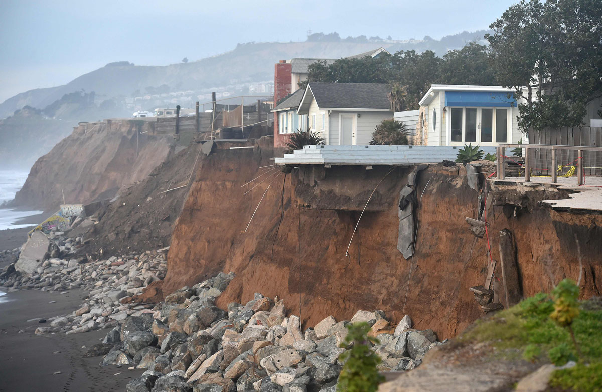 El nino storms put coastal california homes in danger for House and home ca