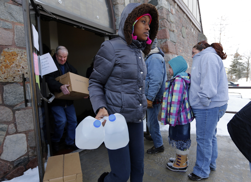 'Trapped' by the Flint, Michigan, water crisis