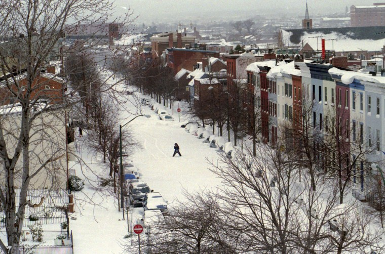 Dr. Sean Toomey, orthopedic surgeon at Union Memorial Hospital, takes pictures on Montgomery Street in Federal Hill. He lives one neighborhood over in Otterbein. This picture was taken from Federal Hill Park. (Algerina Perna/Baltimore Sun)