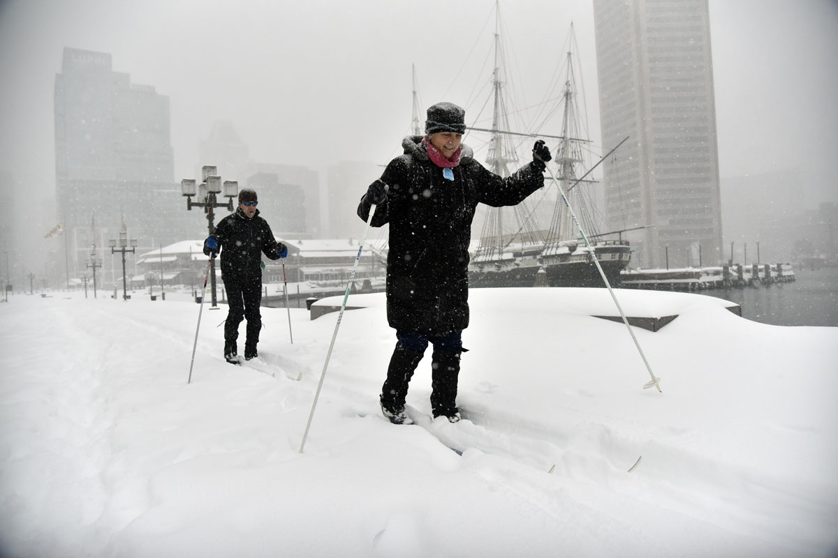 25 of our favorite snow photos from the Baltimore-area blizzard