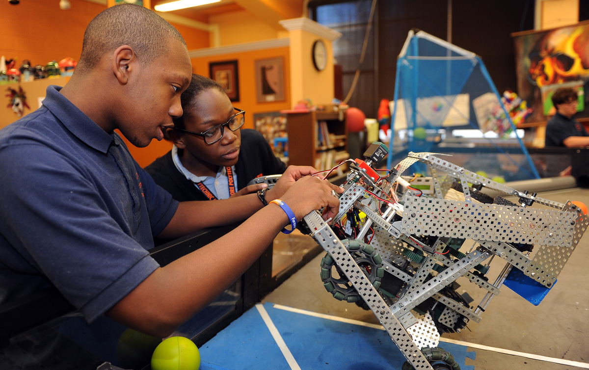 Baltimore Polytechnic Institute Robotics Team