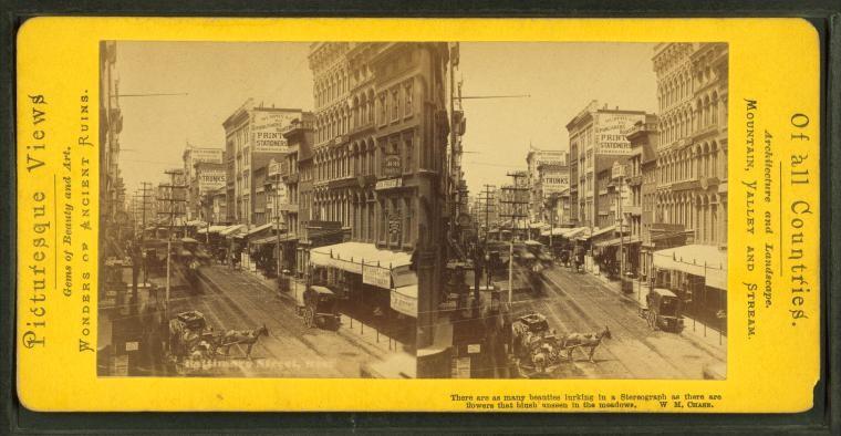 Baltimore Street, circa 1880
