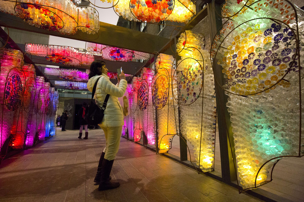 Lumiere London, a free festival of lights