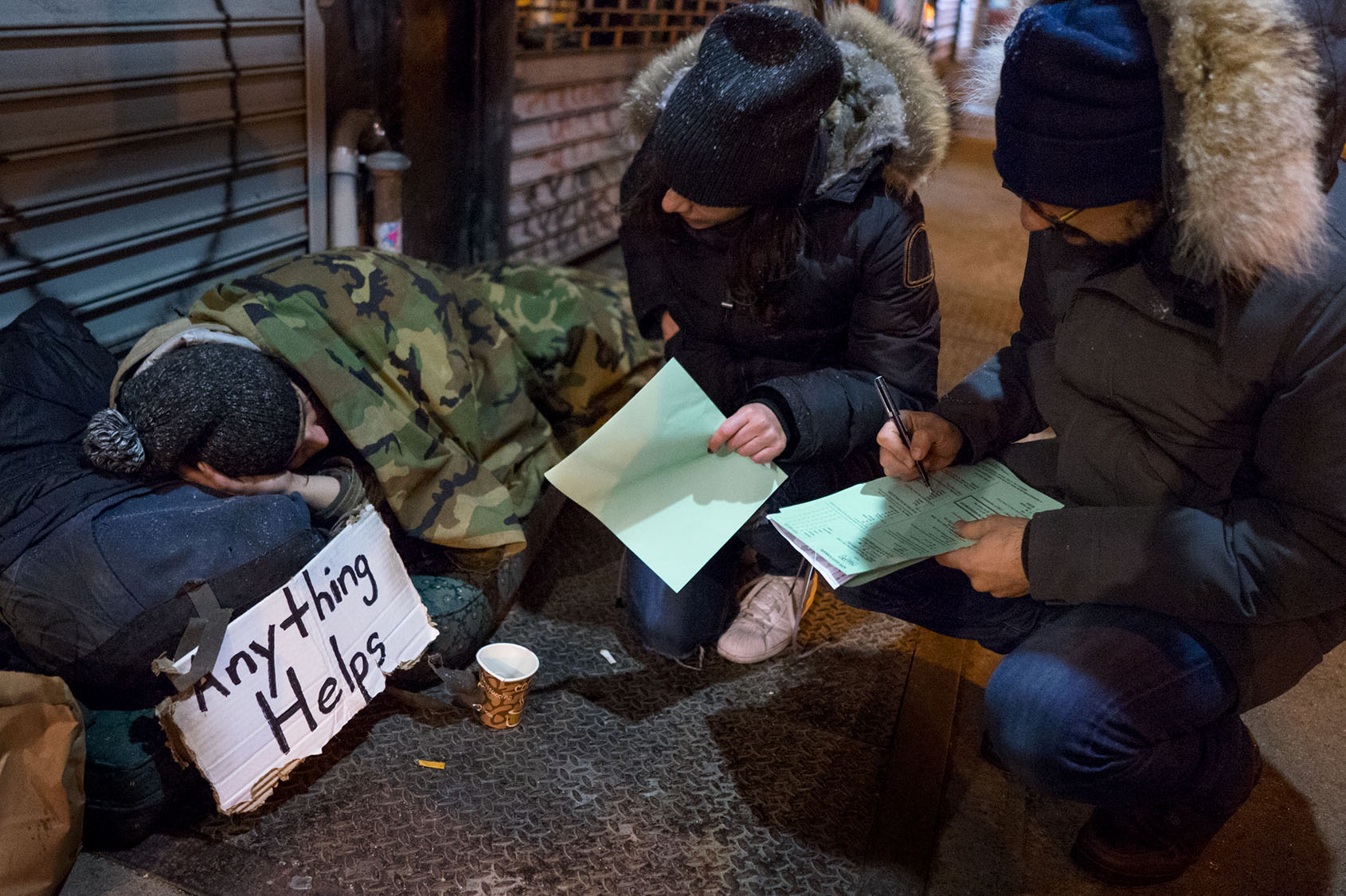 Counting the homeless of New York