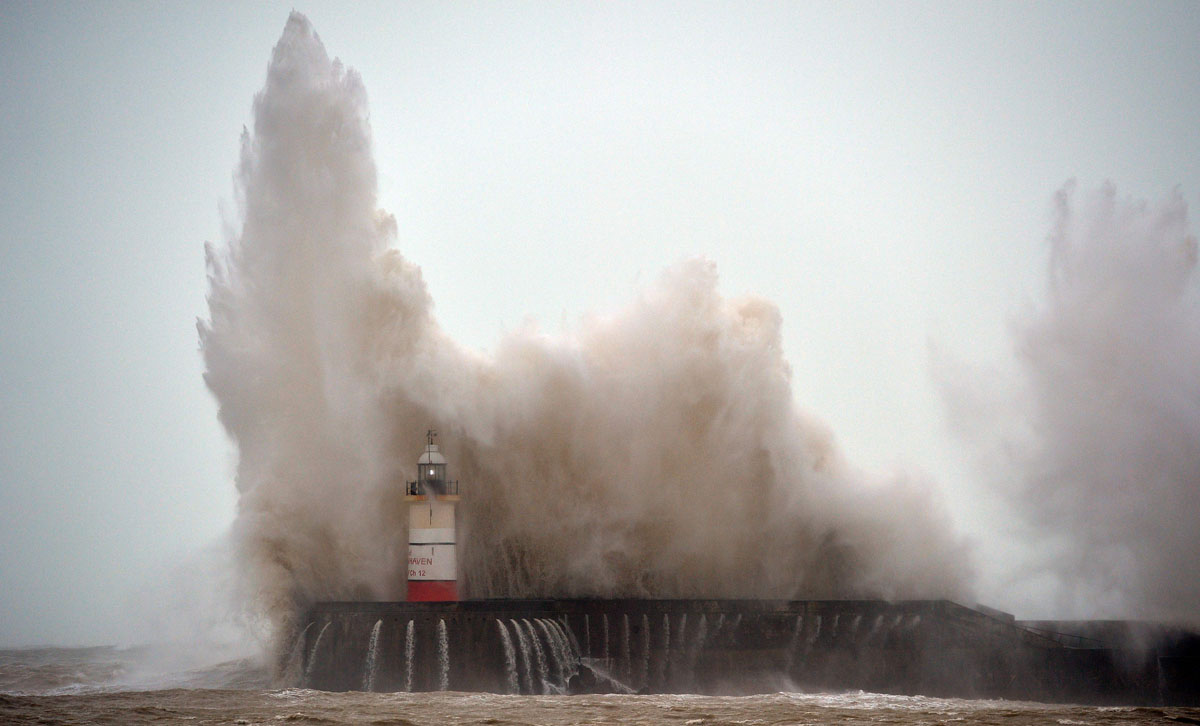 Storm Imogen batters parts of France, United Kingdom