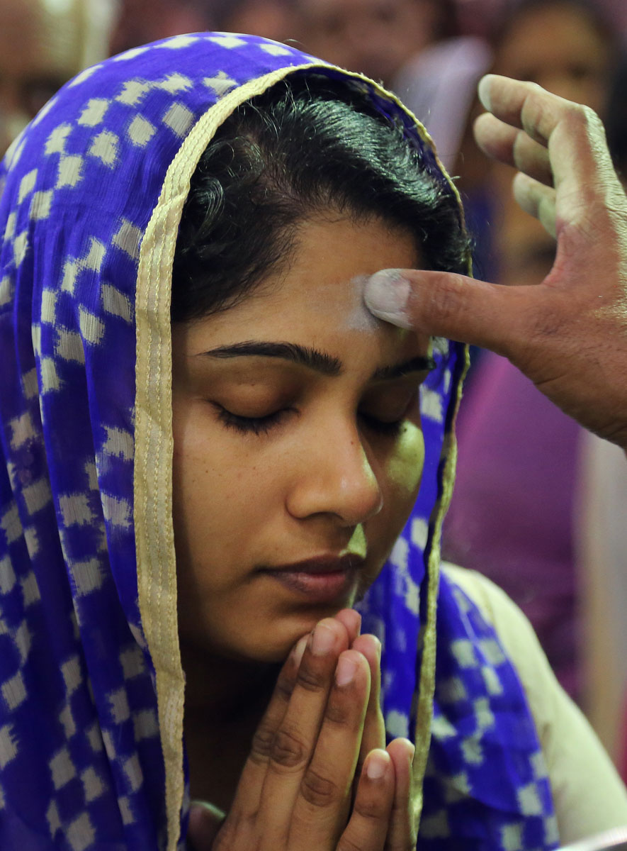 Christians worldwide celebrate Ash Wednesday