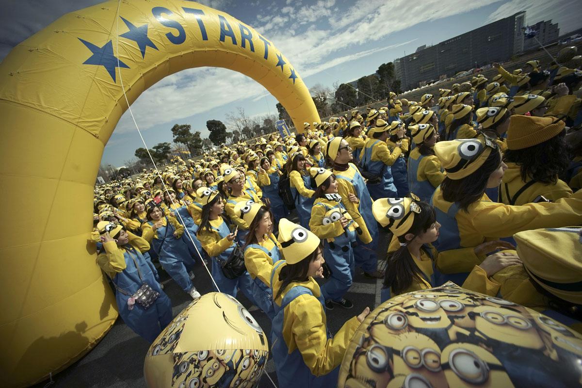 Minions Run In Japan