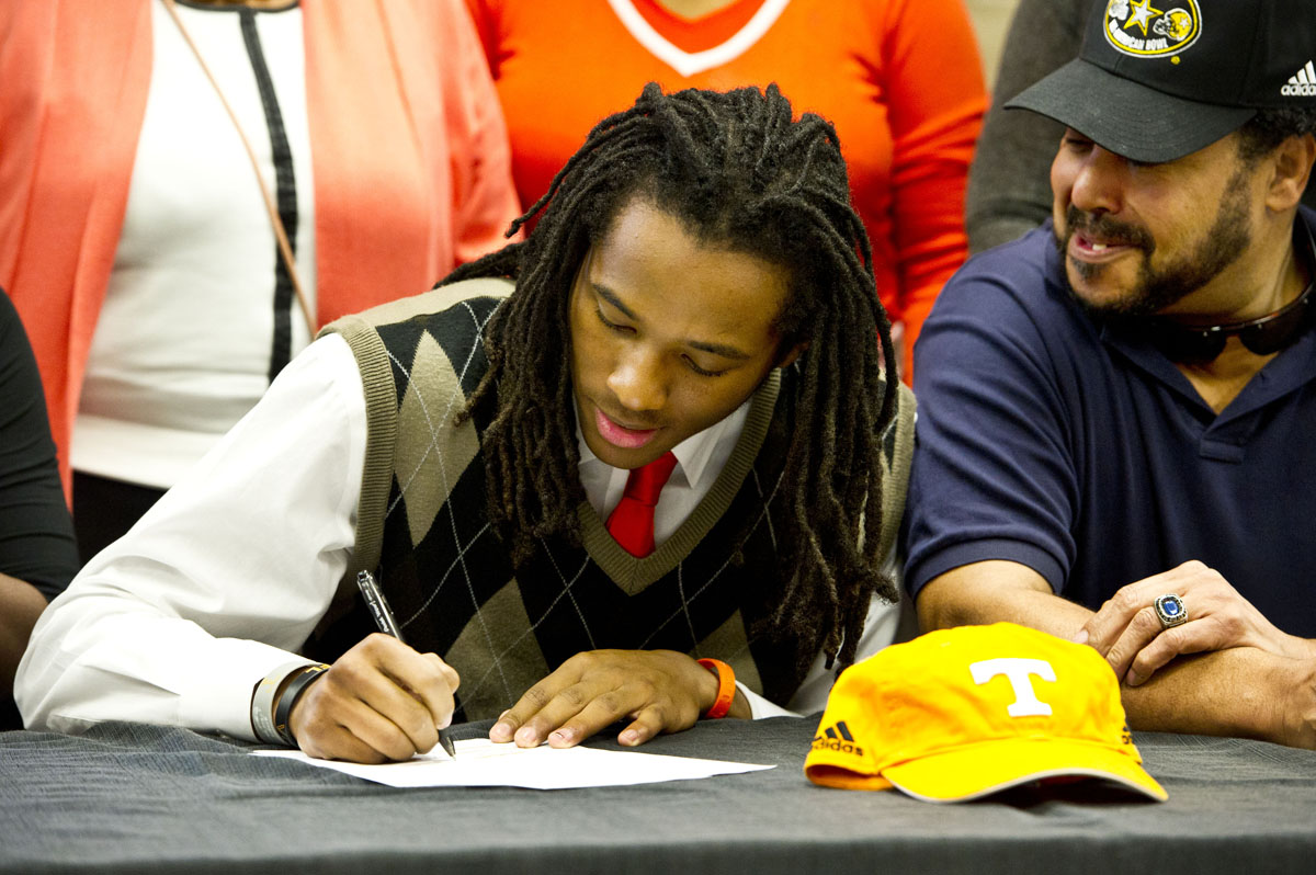 The spectacle of college football's National Signing Day