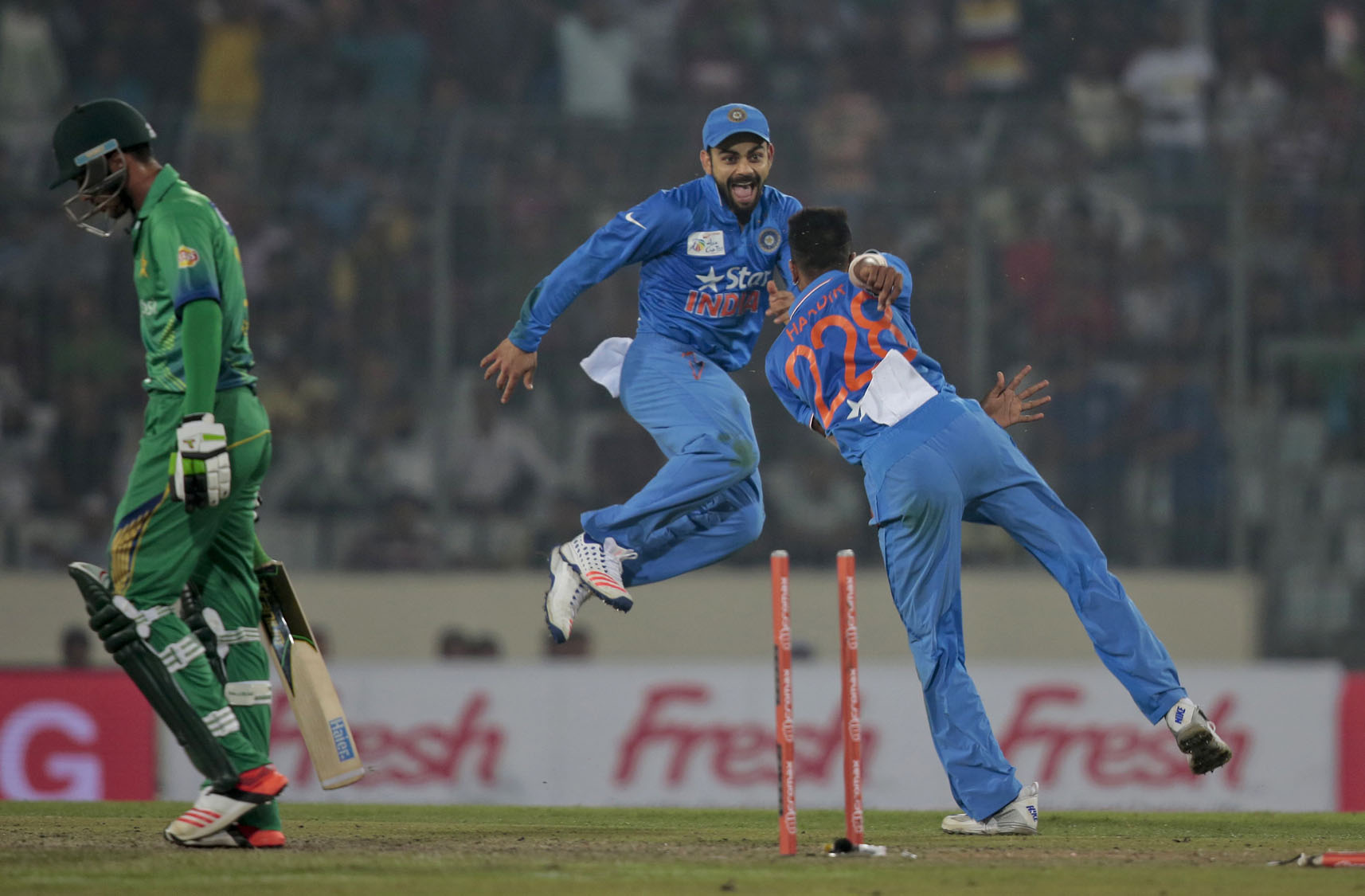 ... Twenty20 international cricket match in Dhaka, Bangladesh, Saturday