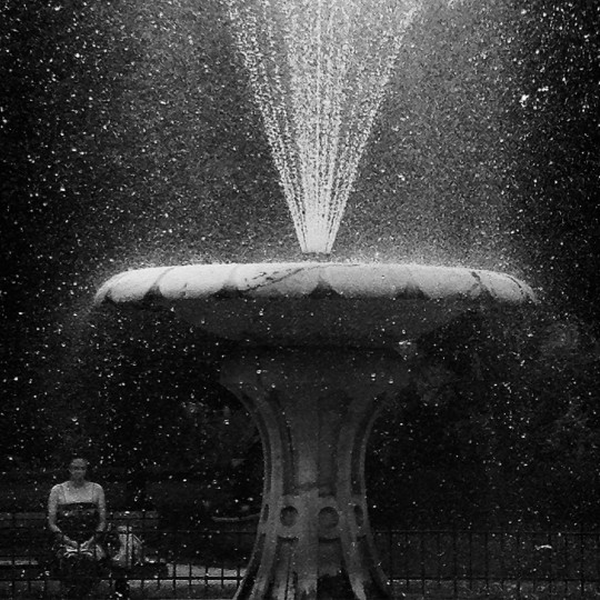 Fountain in Patterson Park.   (Lloyd Fox/Baltimore Sun)
