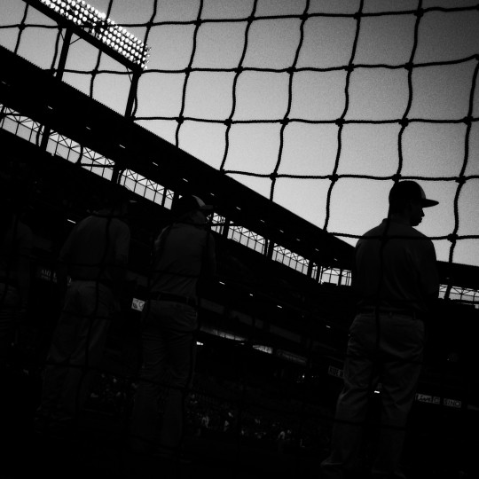 Camden Yards before an Orioles- Boston Red Sox game.   (Lloyd Fox/Baltimore Sun)