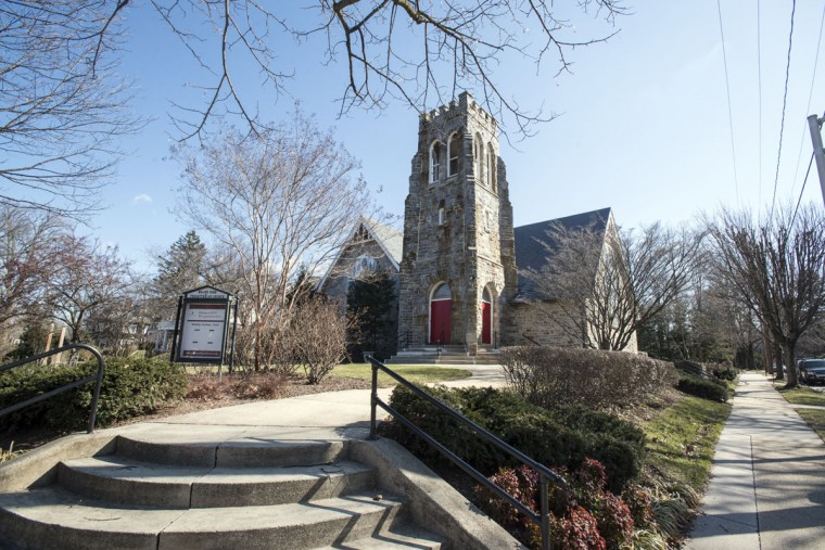 Roland Park Presbyterian Church was founded in 1901. (Emma Patti Harris/Baltimore Sun)