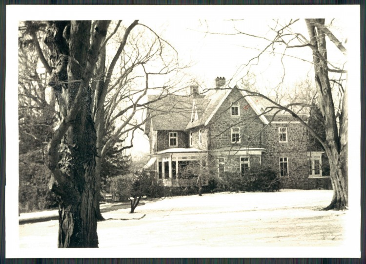 A view of Dohme Estate in Roland Park on April 4, 1978. (Baltimore Sun photo by Clarence B. Garrett)