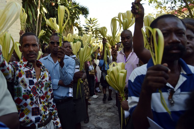HAITI-PALM SUNDAY-RELIGION