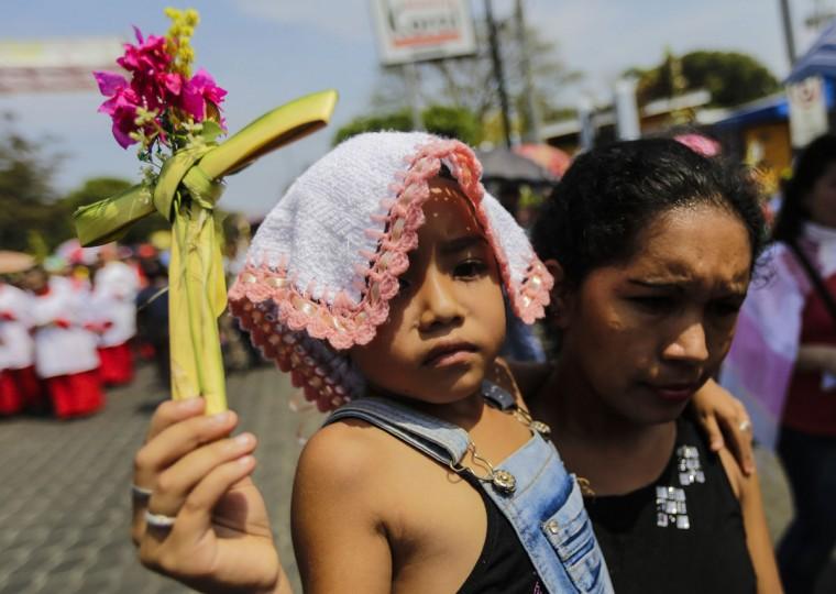 ICARAGUA-RELIGION-PALM SUNDAY