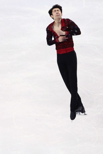 Boyang Jin of China skates in the Men's Short program during day 3 of the ISU World Figure Skating Championships 2016 at TD Garden on March 30, 2016 in Boston, Massachusetts. (Photo by Maddie Meyer/Getty Images)