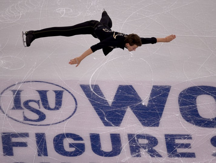 Maxim Kovtun of Russia skates during the Mens Short Program at the ISU World Figure Skating Championships at TD Garden in Boston, Massachusetts, March 30, 2016. (Timothy A. Clary/AFP/Getty Images)
