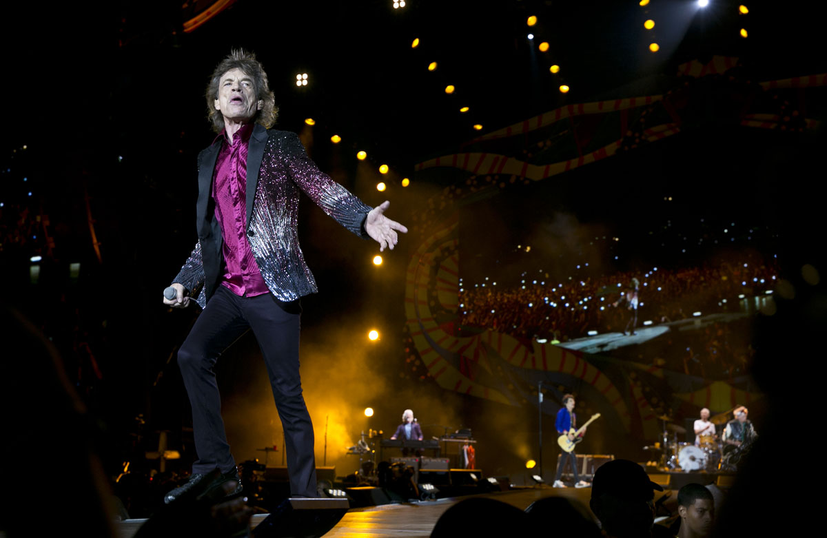Gimme shelter: The Rolling Stones play free concert in Havana, Cuba