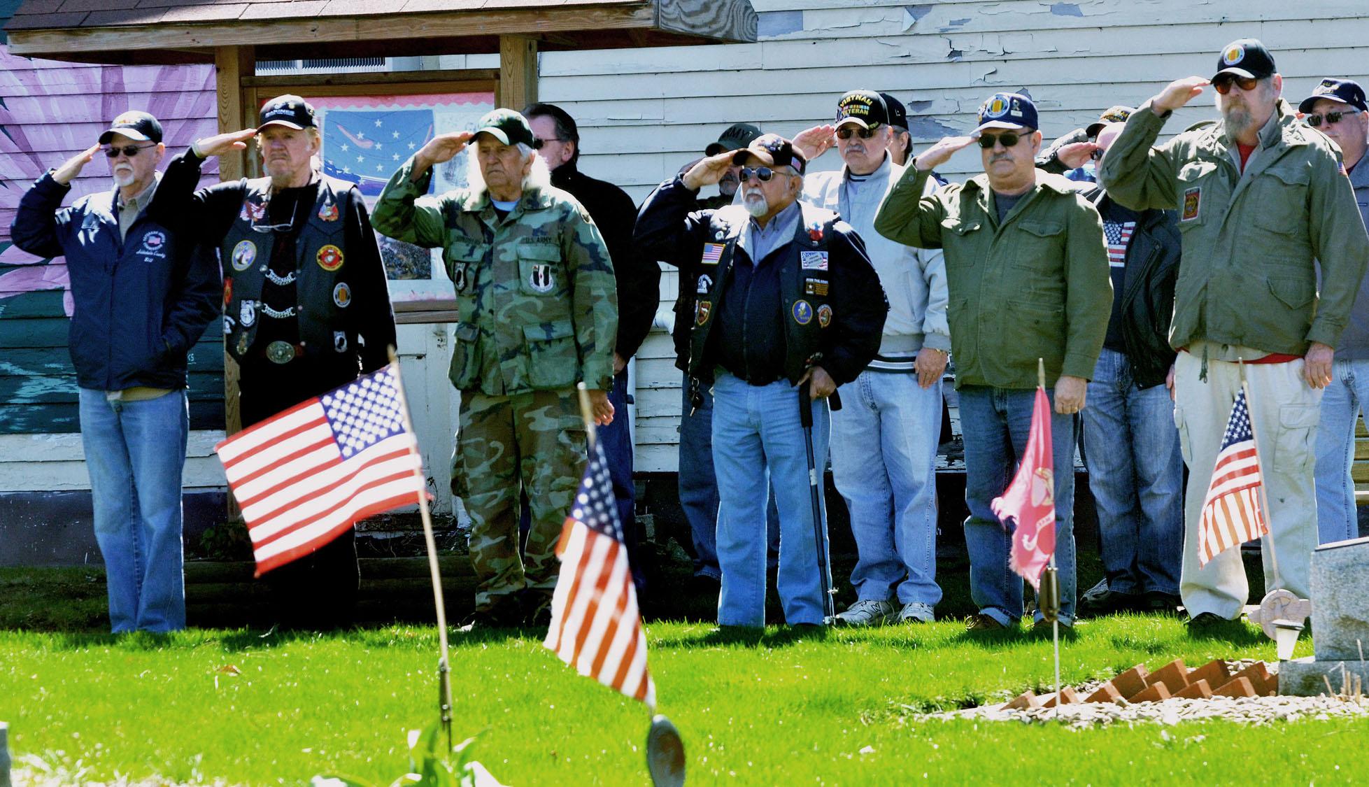 Veteran Salute Commemorating t...