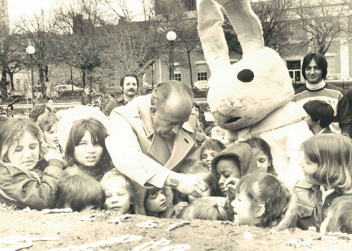 Easter Bunnies that will haunt your dreams
