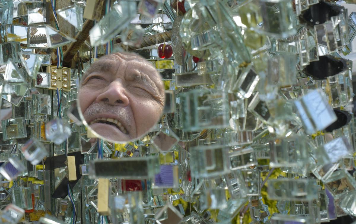 Bob Benson, mirror artist