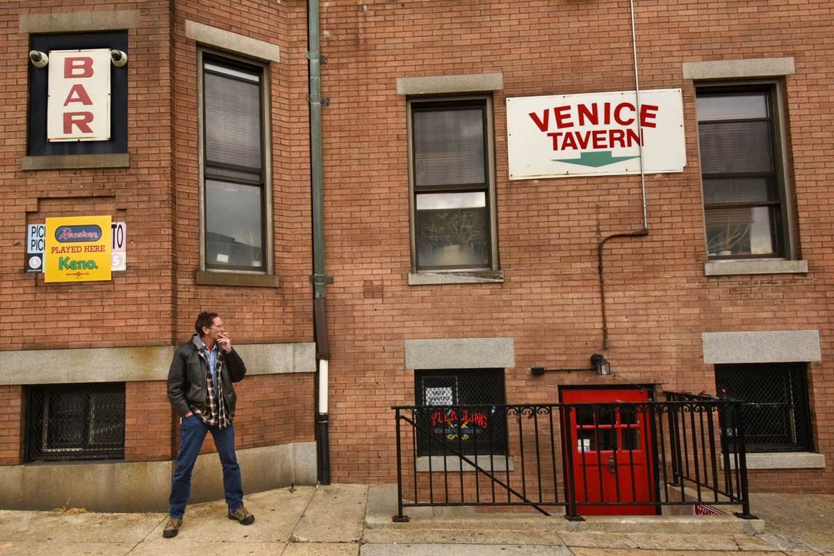 Venice Tavern, one of Baltimore's last basement bars