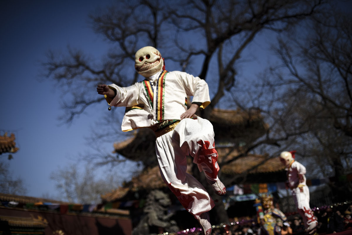 The Beating Ghost festival in Beijing