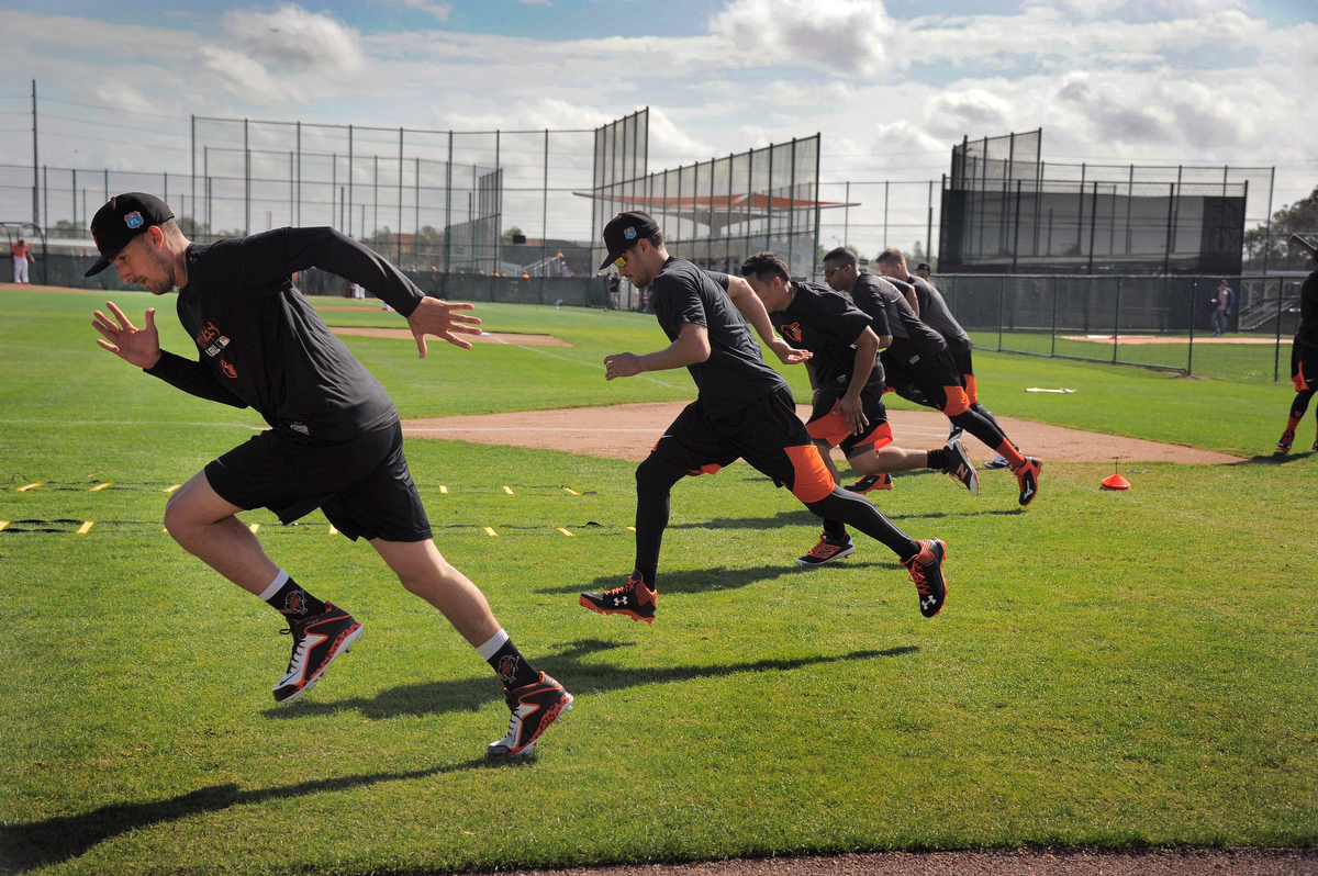 Orioles warm up in Sarasota for the upcoming season