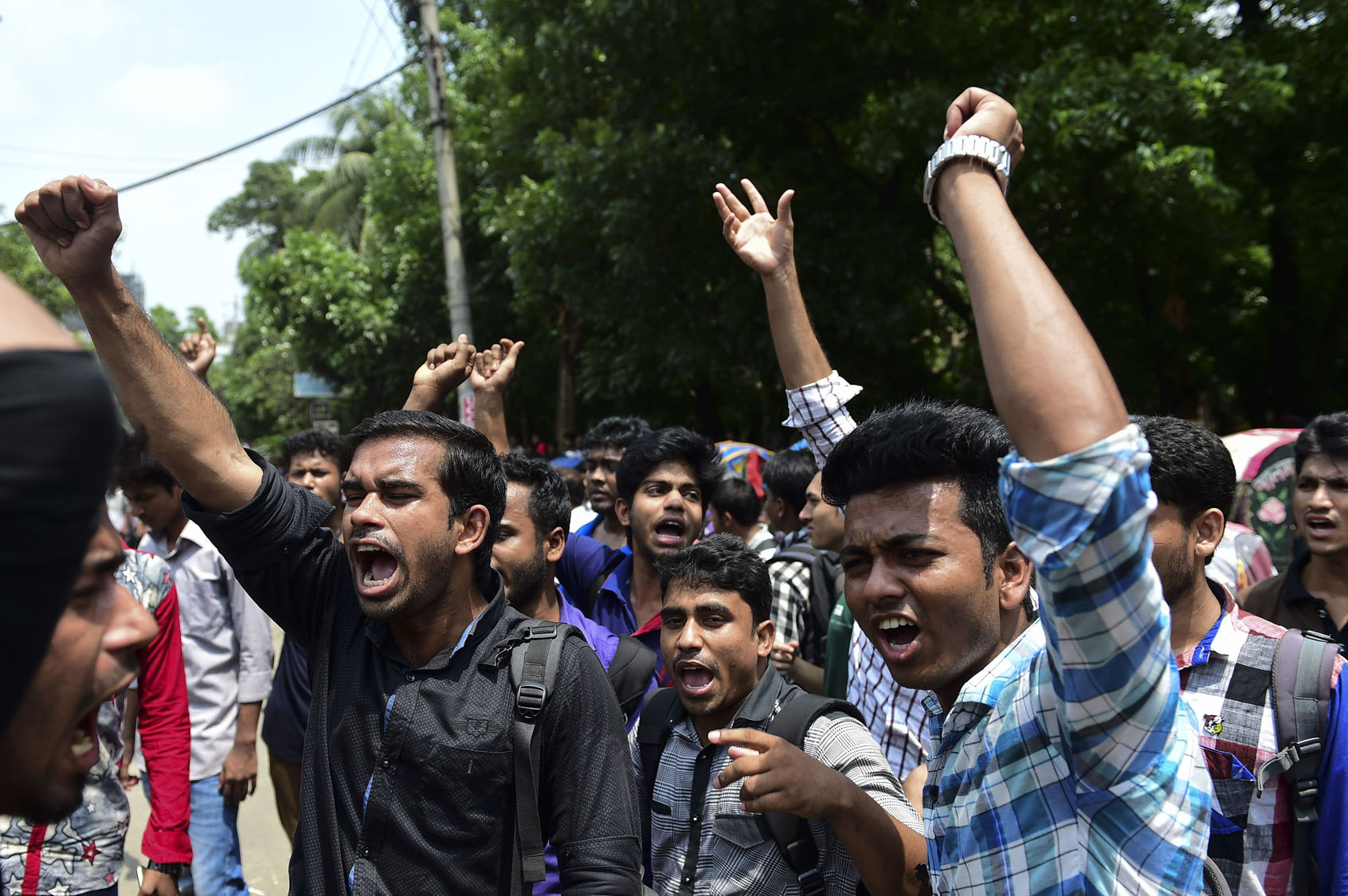 Stabbings, unrest in Bangladesh
