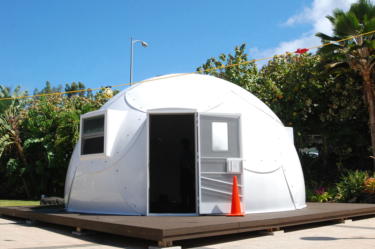 Igloos to house Hawaii's homeless