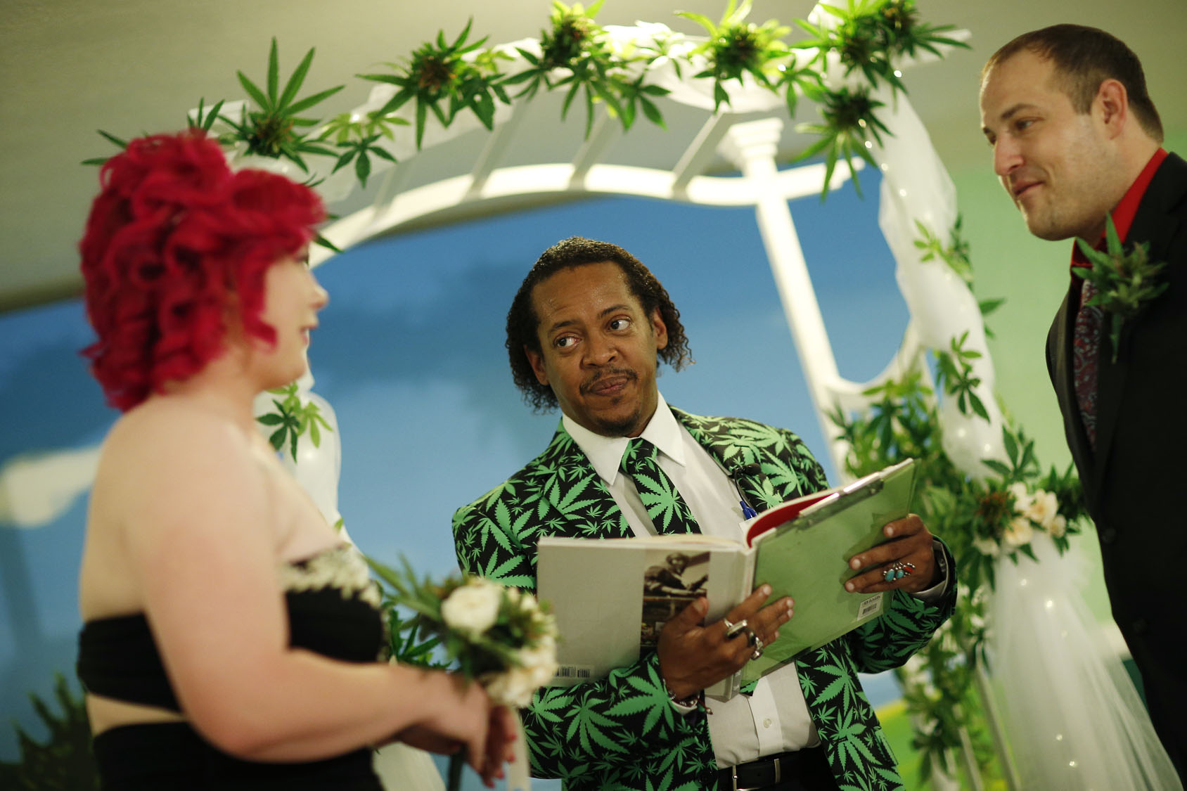 Marijuana users celebrate the plant's unofficial 4/20 holiday