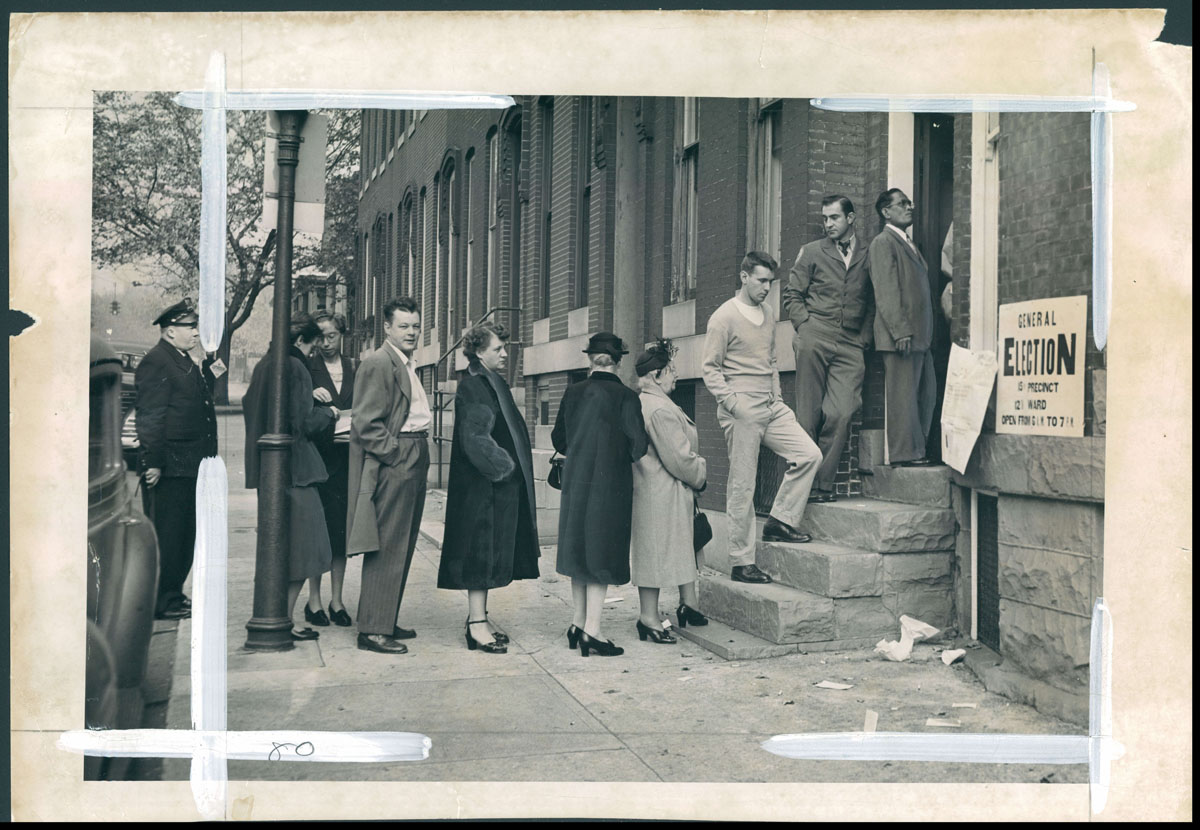From the Vault: Election Day in Baltimore