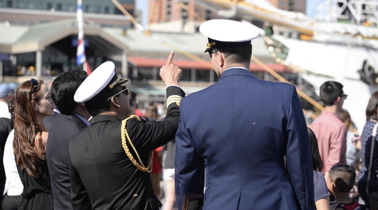 Mexican Navy's Cuauhtemoc arrives in Baltimore
