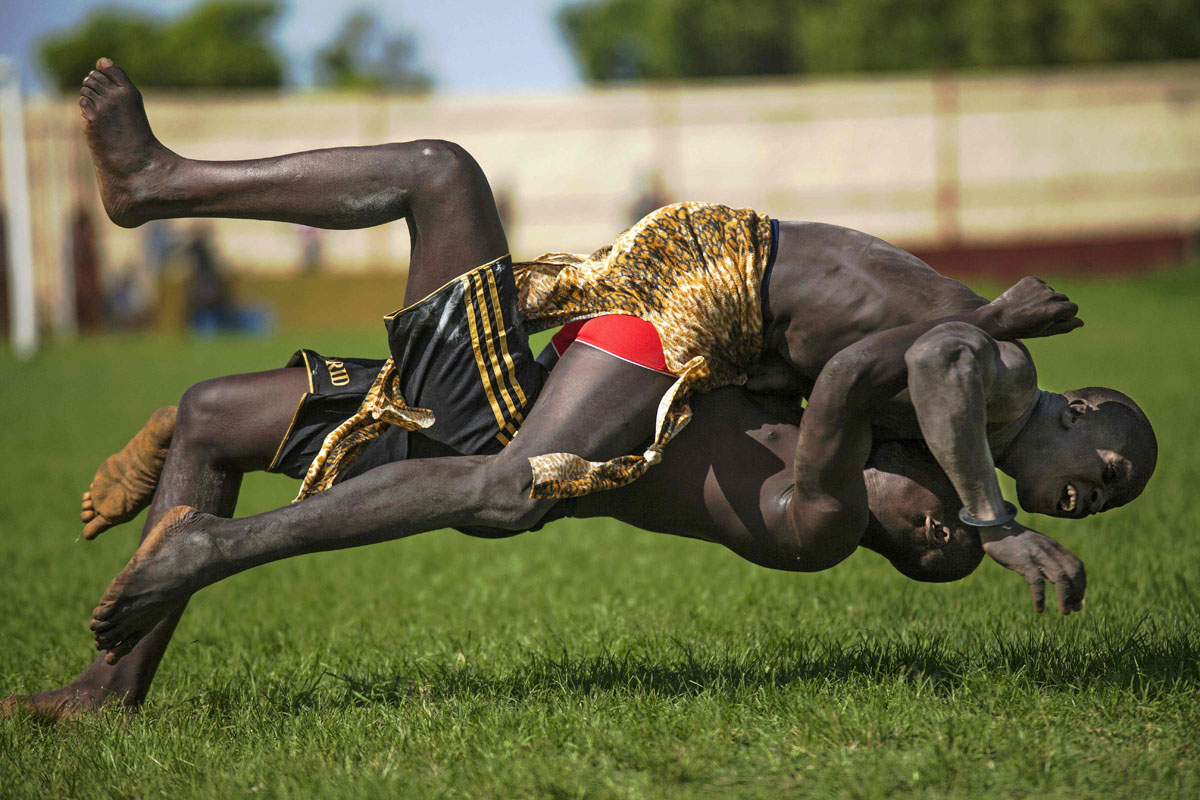 South Sudan National Wrestling Competition for peace