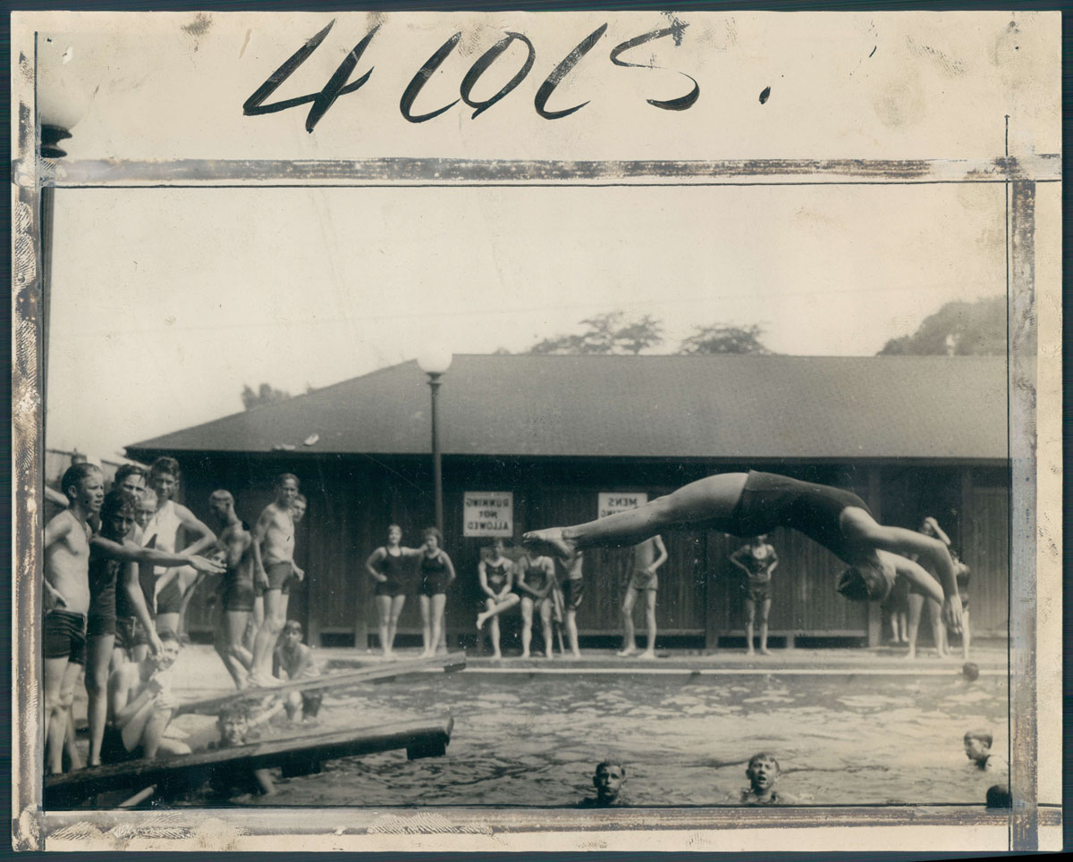 From the vault: Baltimore swimming pools through the years